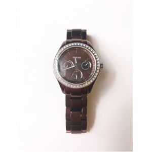 Fossil chocolate watch